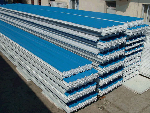 Flat Metal Roof Panel http://www.china-geoffering.com/corrugated-steel-sheets/index.html