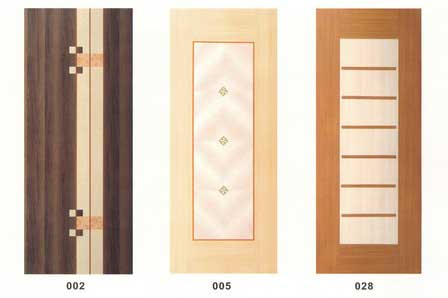 & China hollow wooden doors